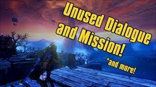 Borderlands 2 - Unused Dialogue and Mission in Dragon Keep and more!