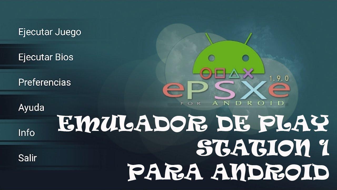 Download ePSXe Emulador PLAY 1 para android Tutorial Completo + Como Configurarlo | Hack Veneno