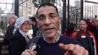 رصد   وقفة احتجاجية أمام نقابة الصحفيين للمطالبة بإلغاء قانون الإيجار القديم
