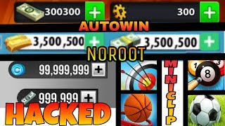 ✓[HINDI/URDU]  N0 Root  Hack Unlimited Coins 8 Ball Pool, Basketball, Star Soccer Any Miniclip Game!