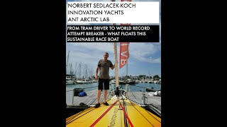 What it takes to attempt a world record sailing UNASSISTED, NON-STOP on a sustainable boat!