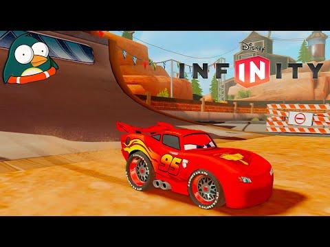 CARS Lightning McQueen Deutsch Zeichentrick Autorennen Kinderspiele Kindervideos Disney Infinity 3.0