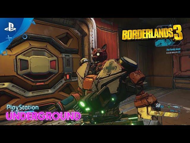 Borderlands 3 - Eden-6 Gameplay | PlayStation Underground