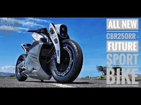 Modifikasi All New Honda CBR250RR Future Sport Bike