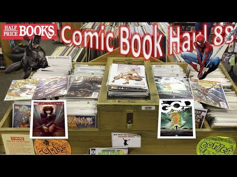 Half Price Books Comic Book Haul 88 | Running Away With God Country!