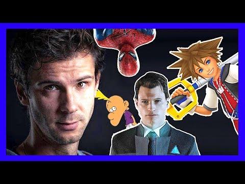 DONALD REIGNOUX, la voix de Titeuf, Sora, Spiderman, Connor nous explique son métier