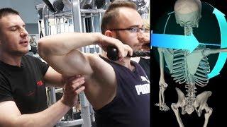 Angażowanie 3 części mięśnia czworobocznego  | Patenty Działają