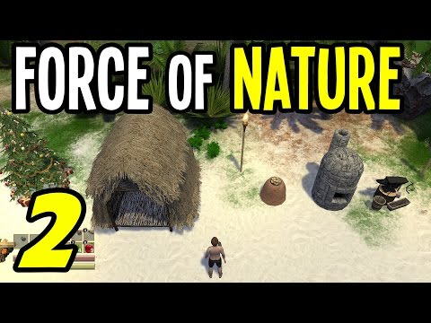Force Of Nature - E02 - Animal Taming And Cooking Table! (Open-world Sandbox RPG)