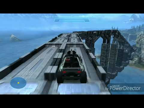 Halo Reach Battle Royale Map Bridge Showcase