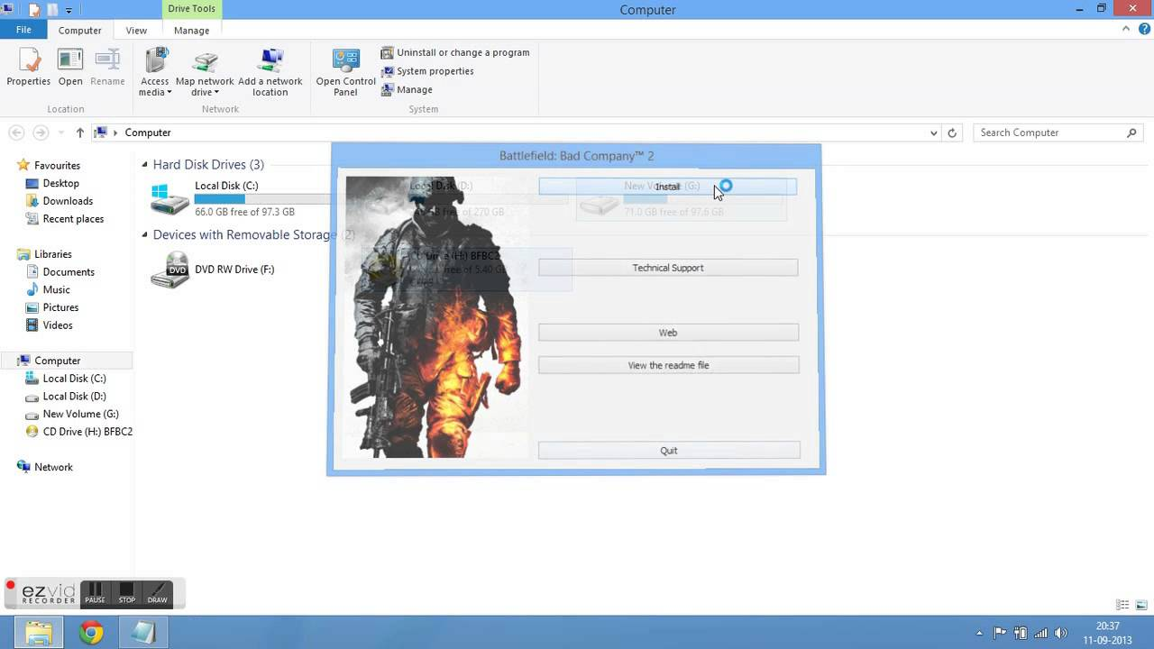 """Battlefield bad company 2"""" cracked and installed by."""
