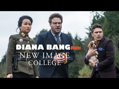 Diana Bang Visits New  College.
