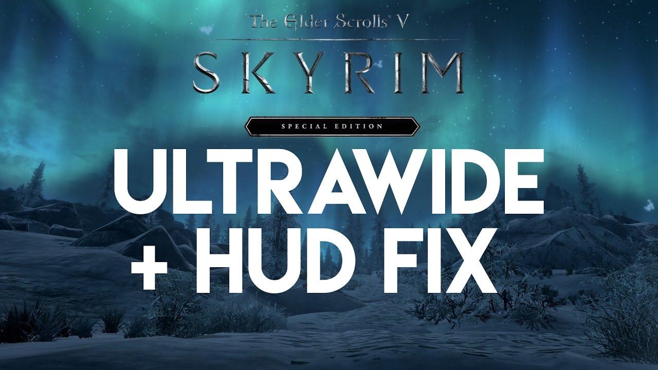 skyrim special edition ultra widescreen mod