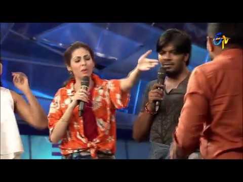 Funny Task | Dhee Jodi | 25th January 2017| ETV Telugu