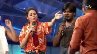 Funny Task | Dhee Jodi | 25th January 2017| ETV Telugu