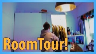 ROOMTOUR + EQUIPMENT + Whats-On-My-Phone !:D | Jonah Pschl