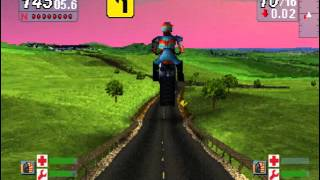 Road Rash Jail Break a best Funny Biker Game