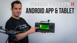 Yuneec Typhoon H #09 - Android App und Tablet