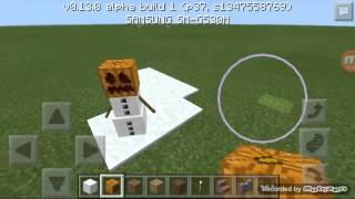 Cara membuat manusia salju di minecraft