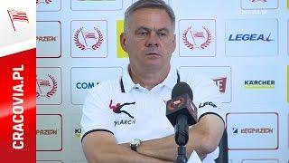 Jacek Zieliński przed meczem PP Cracovia - Jagiellonia (9.08.2016)