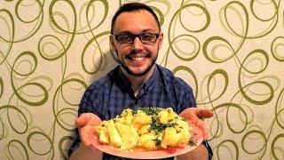 Как варить картошку вкусно просто и правильно(Как и сколько варить картошку в кастрюле на гарнир. Ингредиенты на рецепт блюда из картофеля: Картофель,..., 2016-10-15T14:50:13.000Z)