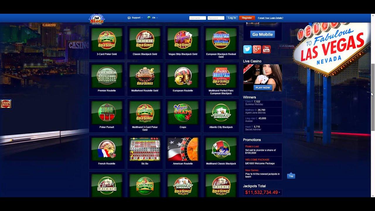 all slots casino.com