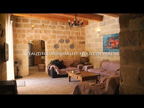 BEST PLACE TO STAY IN MALTA! NOT MODERN NOR BLACK AND WHITE MINIMALIST HOUSE TOUR WITH CHAR マルタお家ツアー