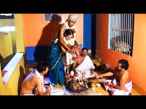 Fire ceremony of Vedic Wedding - Kannada Brahmin Marriage rituals