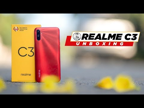 Realme C3 Unboxing & Hands On - Major Upgrades but Ultra Budget!