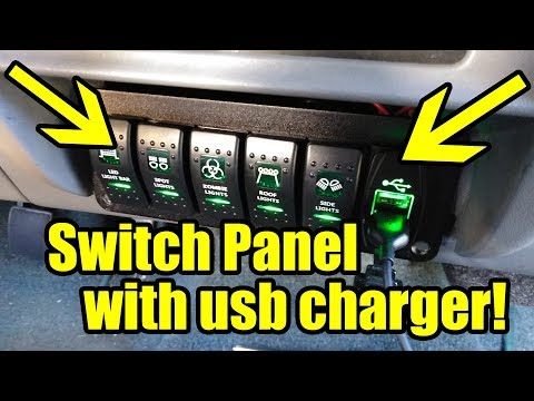 First Gen Ford Explorer | Kustom Lighting And Switch Panel Install Finale