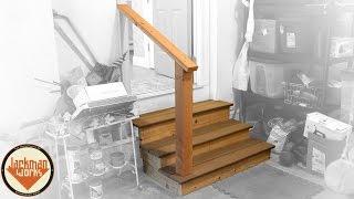 A Typical Saturday: Garage Steps Build  - Jackman Carpentry