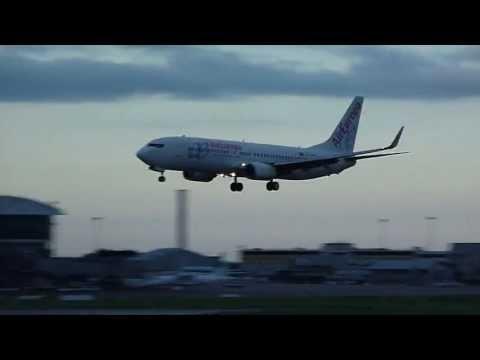 Air Europa Boeing 737-8AS Perfect Landing at Dublin!!!