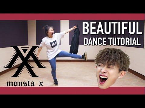 몬스타엑스(MONSTA X) - 아름다워(Beautiful) Dance Tutorial | Full Mirrored [Charissahoo]