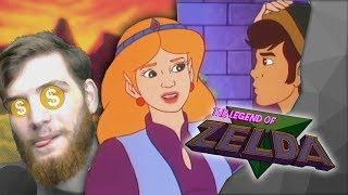 EXKJŮZ MÝ PRINGLES - Legend of Zelda cartoon [CZ]
