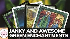 Janky and Awesome Green Enchantments | EDH | Underrated | Magic the Gathering | Commander