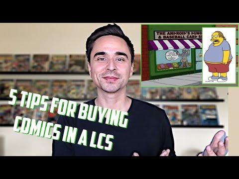 Top 5 TIPS for BUYING COMIC BOOKS in a LCS - COMIC BOOK STORE Etiquette and Lessons I've Learned