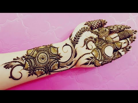 Gulf Henna Design 18 Heena Vahid Youtube