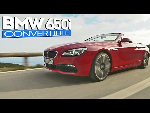 2015 BMW 6 Series Convertible (650i)