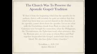 authority of the apostles in the early church with addendum on the rise of the papacy