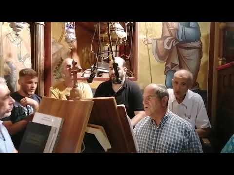 Ο Μέγας Πανηγυρικός Εσπερινός στην Παναγιά του Κάστρου στη Λέρο