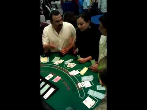 Casino de fantasia mesa de black jack mesa de 21 Cancun Merida