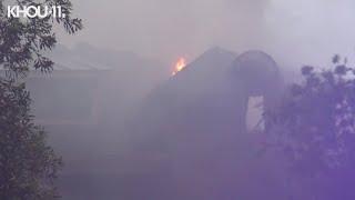 Lightning strike sparks house fire in Shenandoah