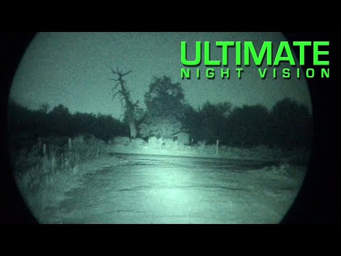 Driving with Gen 3 Night Vision Goggles and Infrared Lights