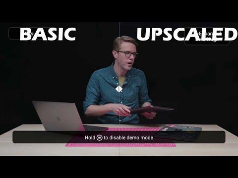 2019 NVIDIA Shield 4K AI Upscaling Demo