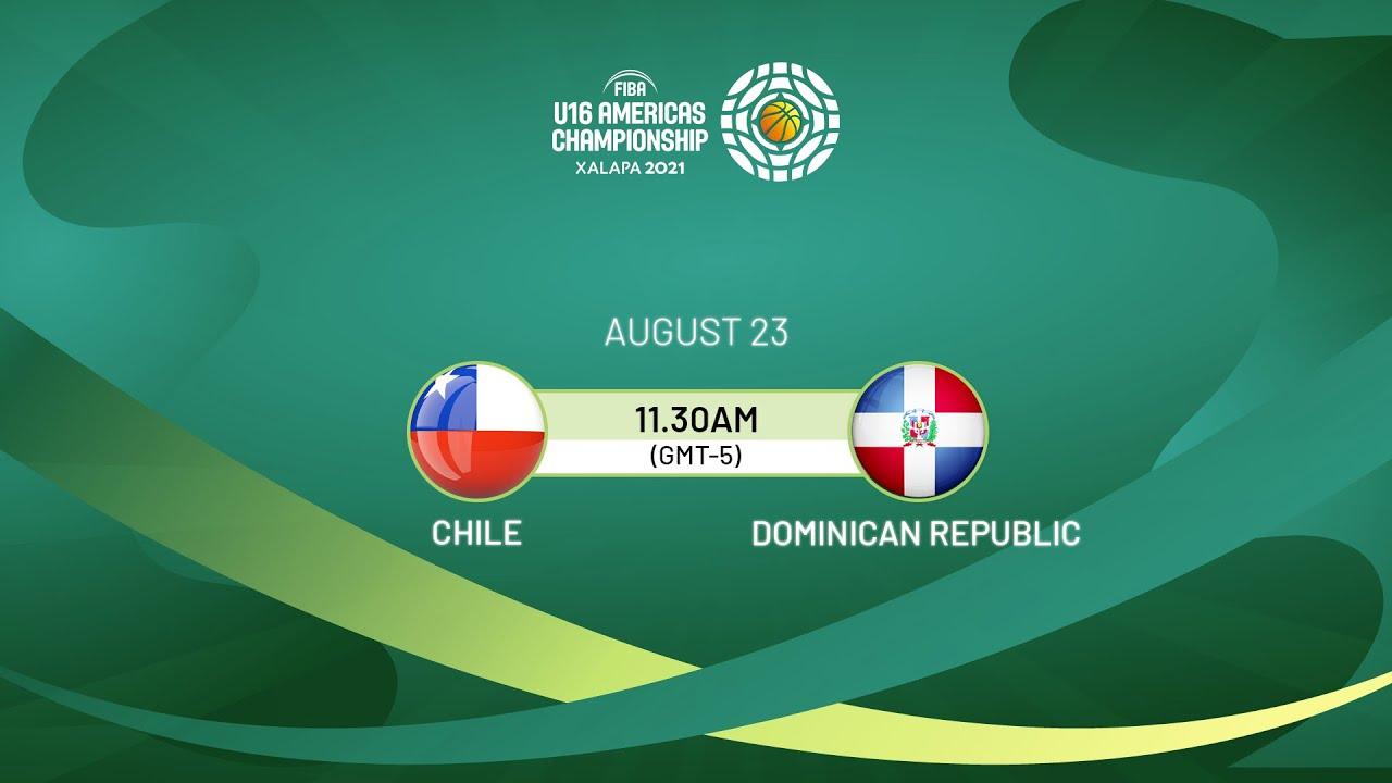 Download Chile v Dominican Republic   Full Game - FIBA U16 Americas Championship 2021