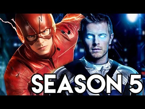 The Flash Season 5 MAIN Villain Footage - Cobalt Blue Theory Explained
