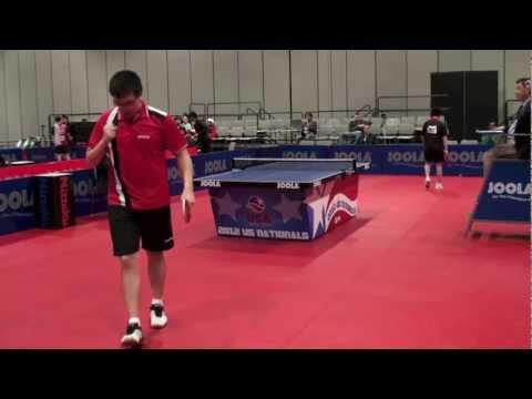 Yahao Zhang vs Jeff Lin Huang  U21 SF