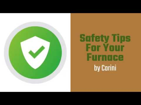 Simple Safety Tips for Your Furnace