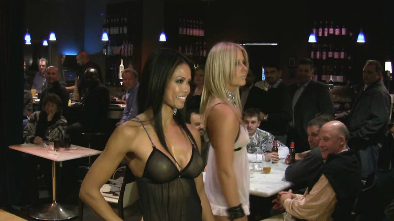 Sexy lingerie fashion show