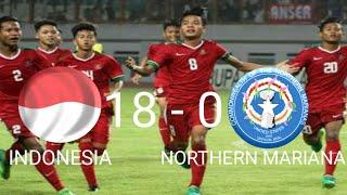 Video Kualifikasi AFC U-16 INDONESIA VS NORTHERN MARIANA ISLAND ( 18 - 0 ) download MP3, 3GP, MP4, WEBM, AVI, FLV April 2018