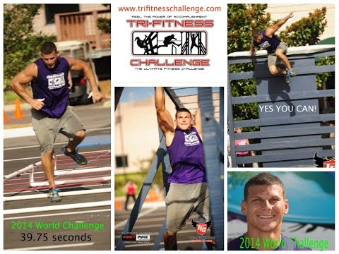 Obstacle Course Winner Mack Roesch Sprints A 39.75 At The Tri-Fitness 2014 World Challenge